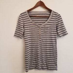 GAP Maternity Striped Shirt